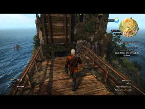 The Witcher 3: Wild Hunt_griffin school gear - search the ruins of the fortress by the lighthouse