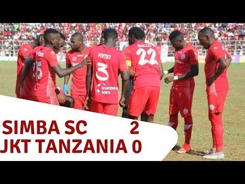 Magoli Yote Simba Sc 2-0 JKT Tanzania, Tanzania Premier league, Meddie Kagere.