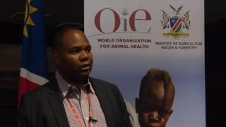 Dr Maseke, Chief Veterinary Officer of Namibia