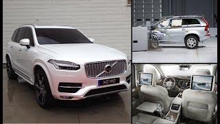 2018 Volvo XC90 класса люкс, обзор, интерьер, краш тест || Luxury SUV, interior, crash test..