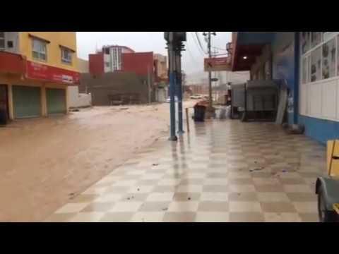 فيضان دهوك ماسيك 28/1/2014 duhok maseek