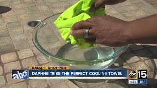How cool does the Perfect Cooling Towel keep you?