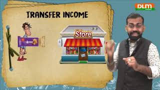 Factor income & Transfer income :  National Income (Part 5) | CBSE | Macro Economics |