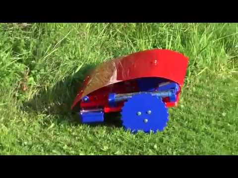 diy robot lawn mower doovi. Black Bedroom Furniture Sets. Home Design Ideas