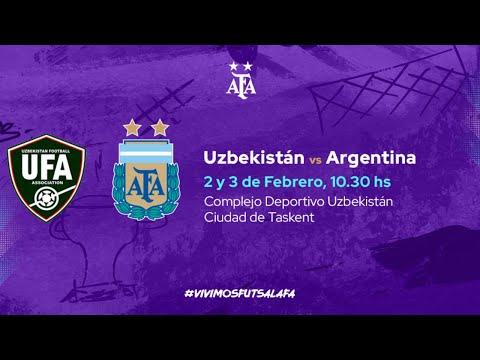 #Futsal. Argentina - Uzbekistán. Partido 2