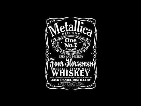 Metallica Whiskey In The Jar Instrumental Youtube