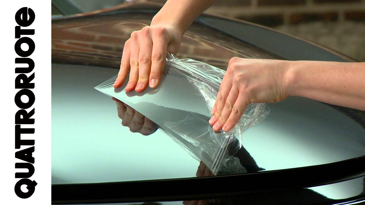 adatta ai veicoli elencati nella descrizione trasparente per i bordi di carico del bagagliaio 150 /µm Pellicola autoadesiva e protettiva per vernice
