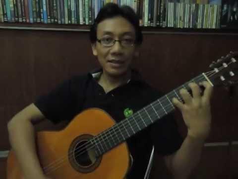 Belajar Gitar Klasik - Dua Hal Penting Ketika Menekan Senar