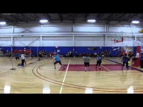 Dodgeball Highlights | Emily Baumgartner