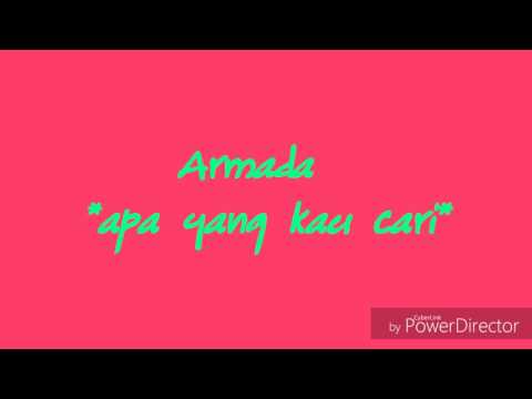 Lagu sendu ~ Armada® *apa yang kau cari*