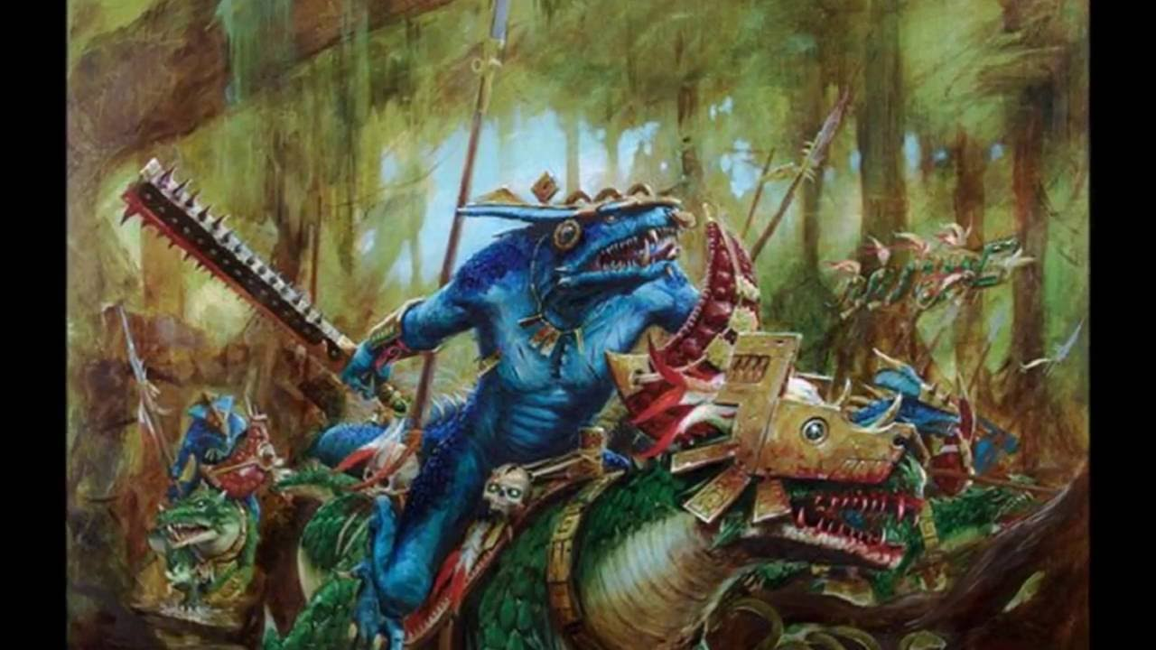 U S Lizard Warhammer Fantasy Liza...