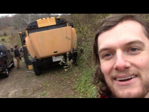 Buying a School Bus and Cutting the Exhaust Off: Race Bus Episode 1