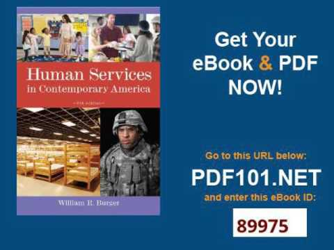 Human Services in Contemporary America Introduction to Human Services