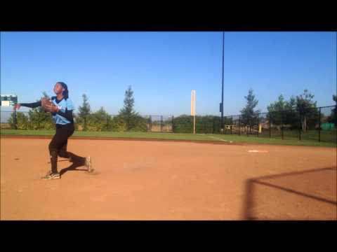 Baylee Opperman Softball Skills Video - Class of 2015