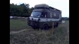 Camper 4x4 Saviem TP3 off road Adamello Brenta
