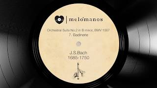 J.S.Bach - Orchestral Suite No.2 in B minor BWV 1067 7.Badinerie I melómanos.com