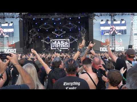 Mass Hysteria  lenfer des dieux  Download Paris  17062018