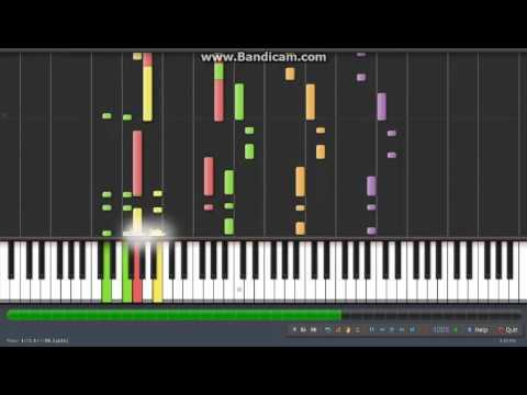 Lagu Nasional Indonesia Raya Synthesia