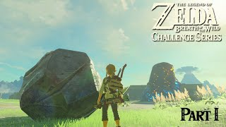 BOULDER OF THE WILD: BotW Great Plateau Challenge [PART I]