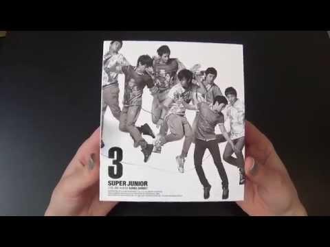 Unboxing Super Junior 슈퍼주니어 3rd Korean Studio Album Sorry Sorry (Version C)