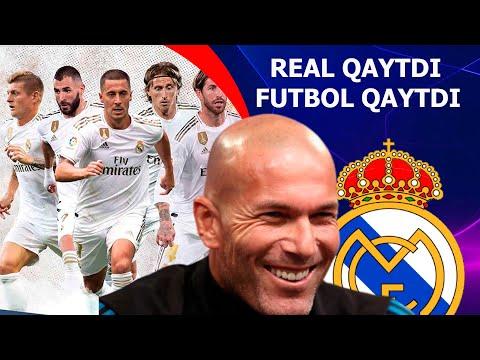 REAL MADRID QAYTMOQDA FUTBOL QAYTMOQDA