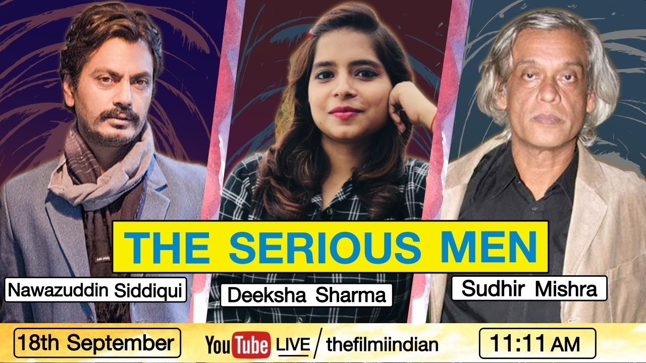 Serious Men Netflix Trailer With Nawazuddin Siddiqui & Sudhir Mishra Live | Deeksha Sharma