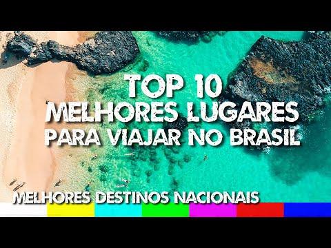 Top 10 Melhores Lugares para Viajar no Brasil - Melhores Destinos Nacionais