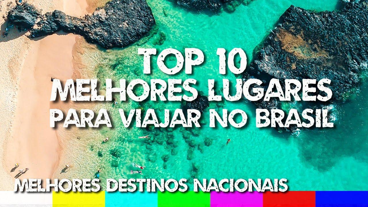 Top 10 Melhores Destinos do Brasil - Lugares para Viajar em 2019