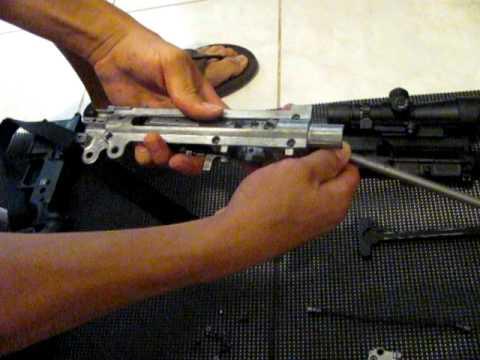 HK 416 D  22LR disassembly (part2)