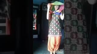 Beautiful girl dance.. लत लग जागी.. हरियाणवी.. Song 2018