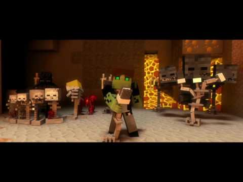 ♫ Villagers   A Minecraft Parody Song of Sugar By Maroon 5 Music Video Animation