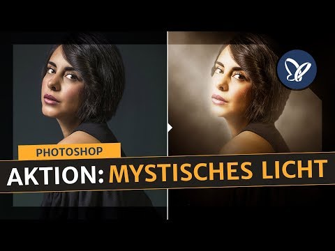 "Photoshop Tutorial: So verwendest du die Photoshop-Aktion ""Mystisches Licht"" thumbnail"