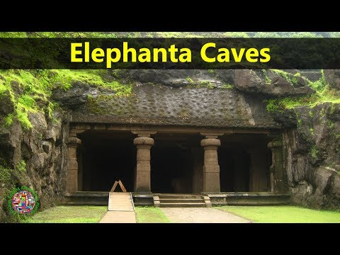 Best Tourist Attractions Places To Travel In India | Elephanta Caves Destination Spot