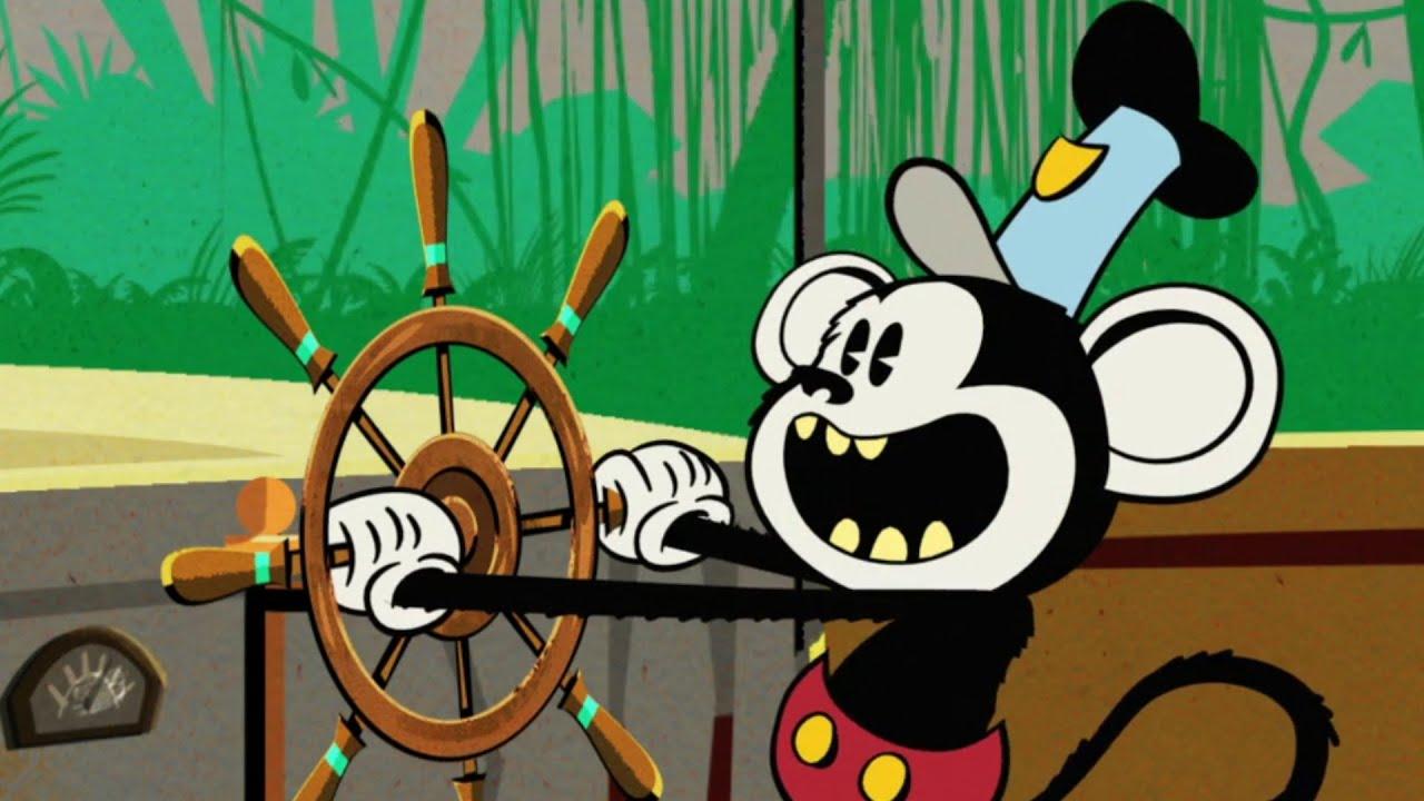 Mickey Monkey | A Mickey Mouse Cartoon | Disney Shorts ...