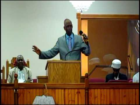 GUEST SPEAKER, BISHOP RICHARDSON. THERE'S A PLACE BY  ME pt3