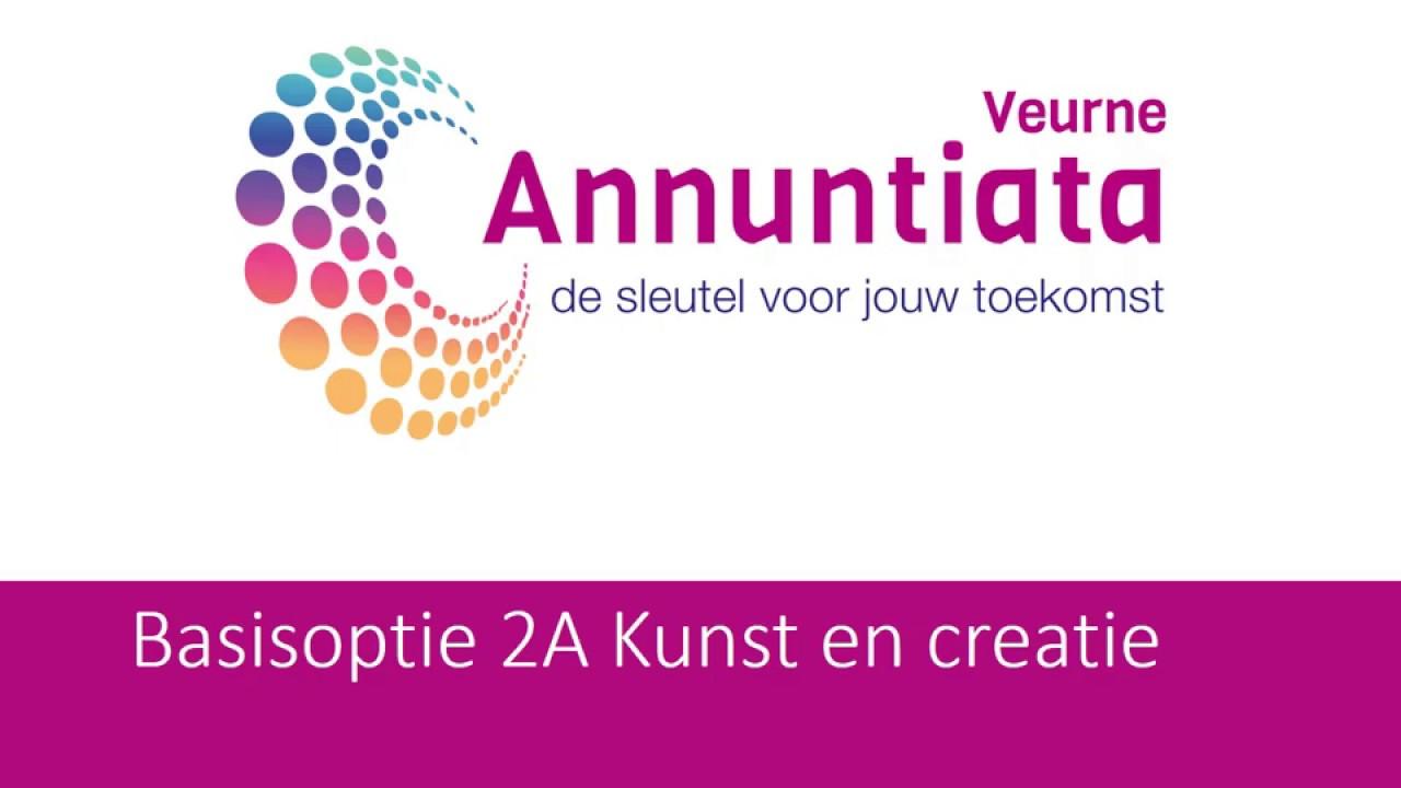 Nieuw Annuntiata Veurne - 2A kunst en creatie 1 - YouTube UU-58