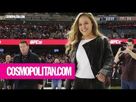 Ronda Rousey on When She Feels Sexiest   Cosmopolitan