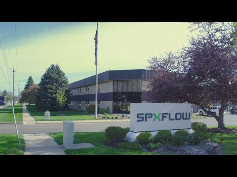 SPX FLOW Manufacturing And Distribution Centers In Delavan, WI USA