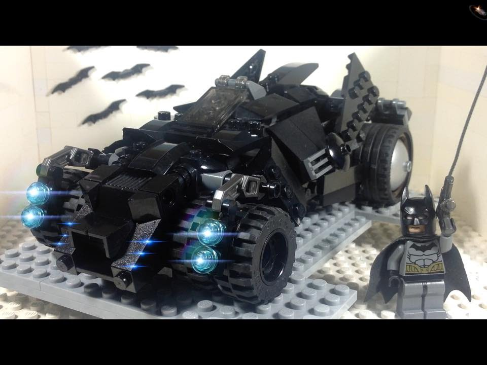 Lego Batman Arkham Knight Batmobile MOC YouTube