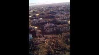 Жезказган с высоты птичьего полёта. апрель 2013