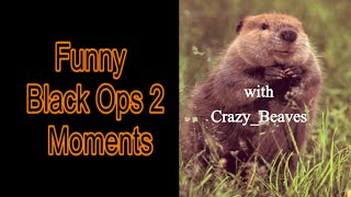 Black Ops 2 Funny Moments with DropHazard 2 Feat Crazy_Beaves | 1st 60fps