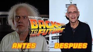 Actores de Volver al Futuro Antes y Después 2015