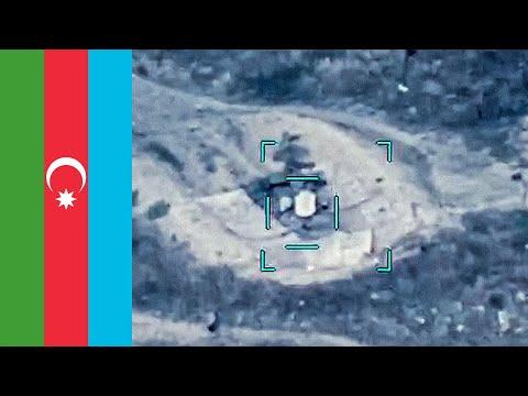 Azerbaijan Bayraktar TB2 Destroys Armenian (9K33 Osa/SA-8 Gecko) Air Defences