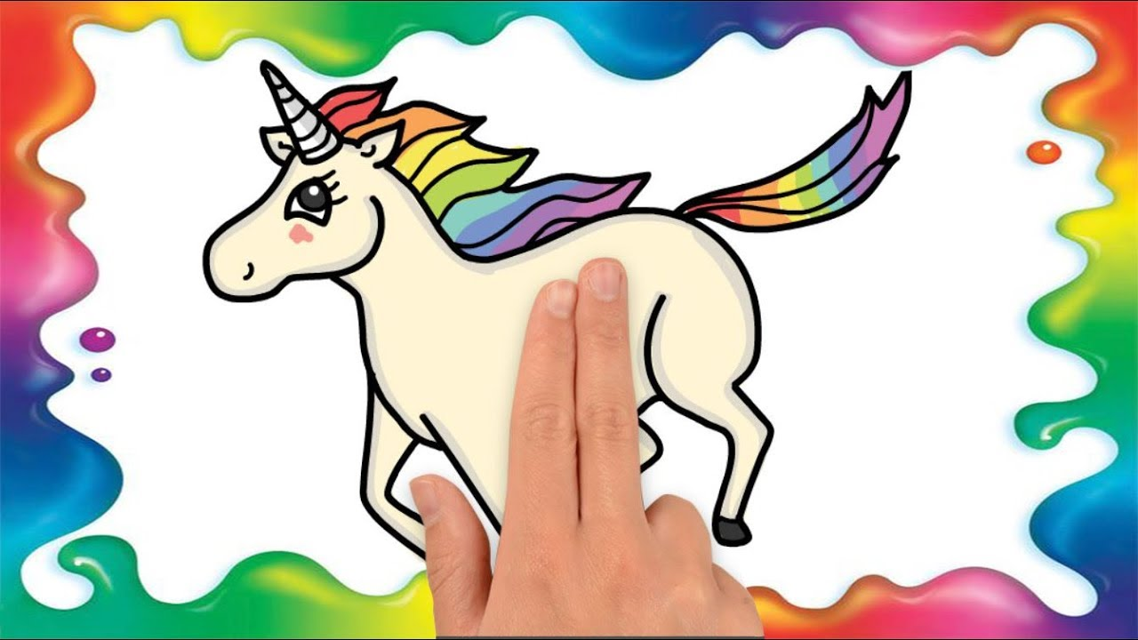 Cum Sa Desenezi Un Unicorn Pas Cu Pas Pentru Copii