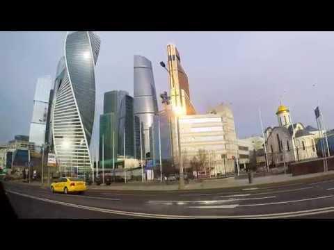 Смотреть Как просыпается Москва! Как выглядит город в утреннее время! Доброе утро столица! онлайн