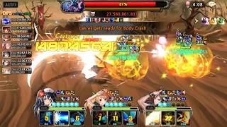 King's Raid - PDodge Loman vs Lakreil