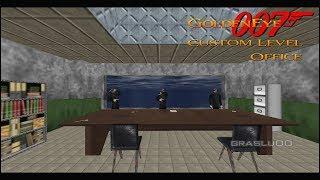 GoldenEye 007 N64 - Office - 00 Agent (Custom level)