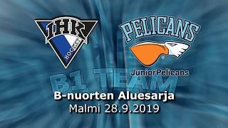 La 28.9.2019 IHK - Pelicans B1 Team