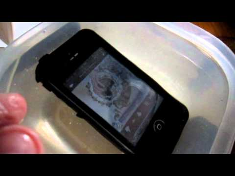 My LifeProof iPhone 4 - Water test