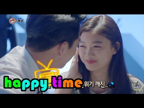 [Happy Time 해피타임] NG Special -  'Angry Mom' shyness Kim Yu-jeong & BARO 20150503